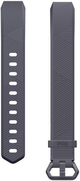 fitbit ALTA HR, Classic Accessory Band, Blue Gray, L