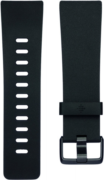 fitbit Versa, Classic Accessory Band, Black, Small